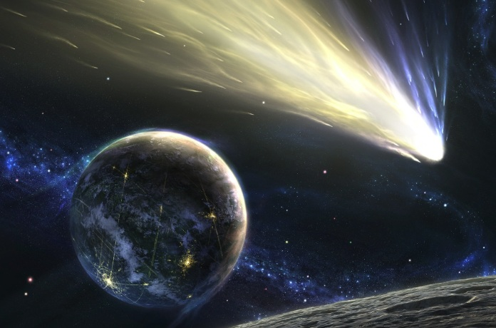 Asteroid Collision Course Toward Earth