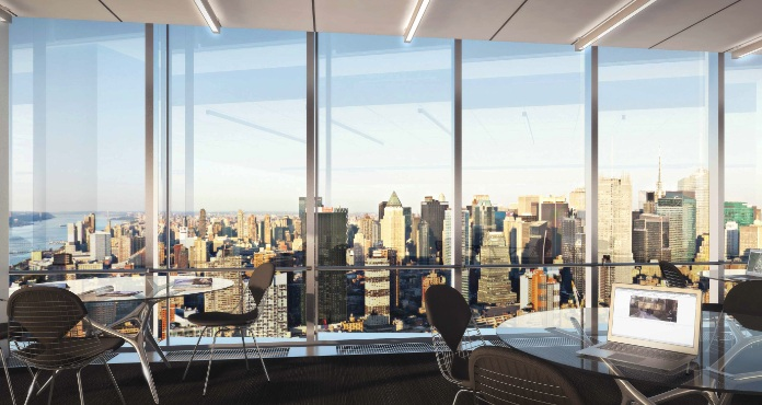 Office Window View